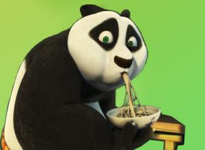 KungFu panda mangia