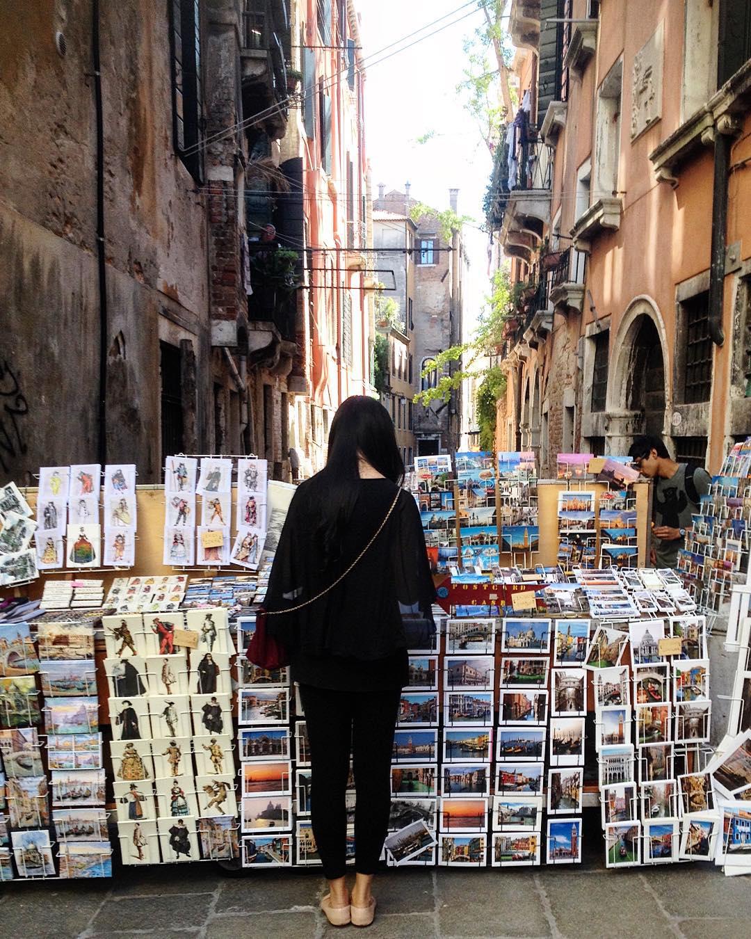 cartolina da Venezia  #postcard #cards #venice #venezia #italy #stamp #cartolina