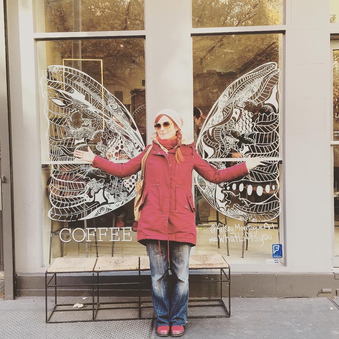 Evviva la stupidera #butterfly #ibelieveicanfly #newyork #newyorkcity #nyc #whatliftsyou #soho #chinatown #chinatownnyc